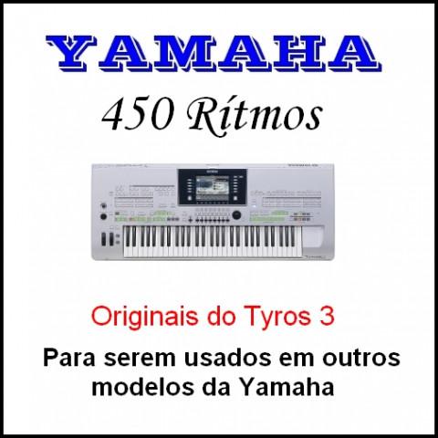 Rítmos Yamaha 11 (450 ritmos)