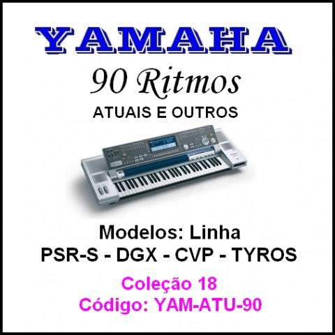 Rítmos Yamaha 18 (90 ritmos)