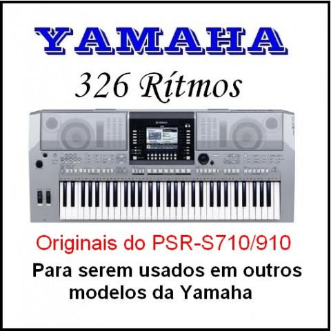 Rítmos Yamaha 20 (326 rítmos)