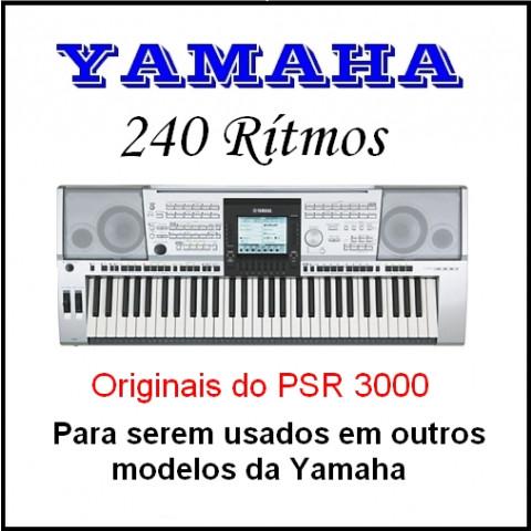 Ritmos Yamaha 22 (240 ritmos)