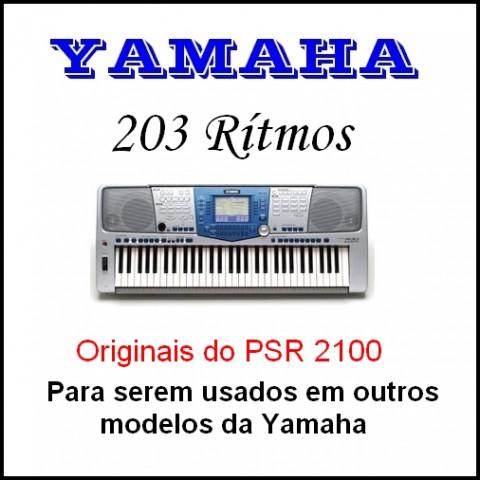 Ritmos Yamaha 23 (203 ritmos)