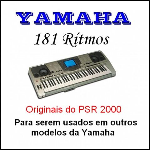 Ritmos Yamaha 24 (181 ritmos)