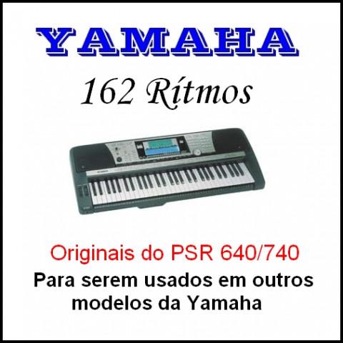 Ritmos Yamaha 25 (170 ritmos)