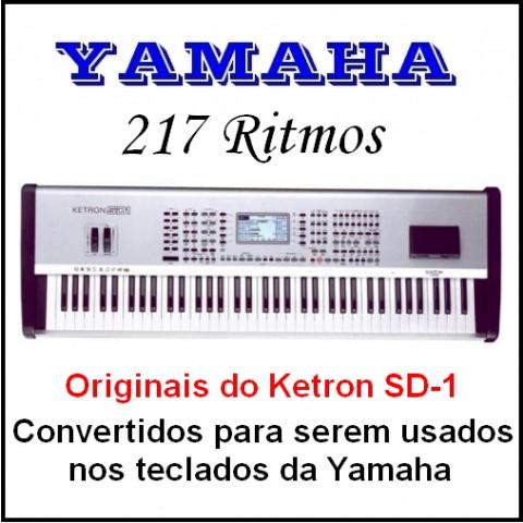 Ritmos Yamaha 28 (217 ritmos)