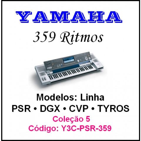 Rítmos Yamaha 5 (359 ritmos)