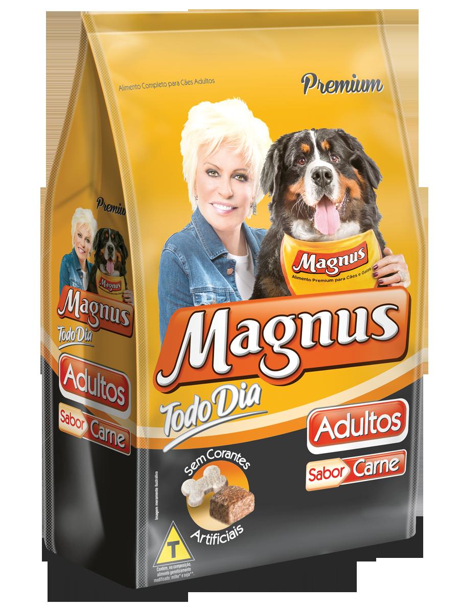 Magnus Premium Todo Dia Cães Adultos  Carne 15kg
