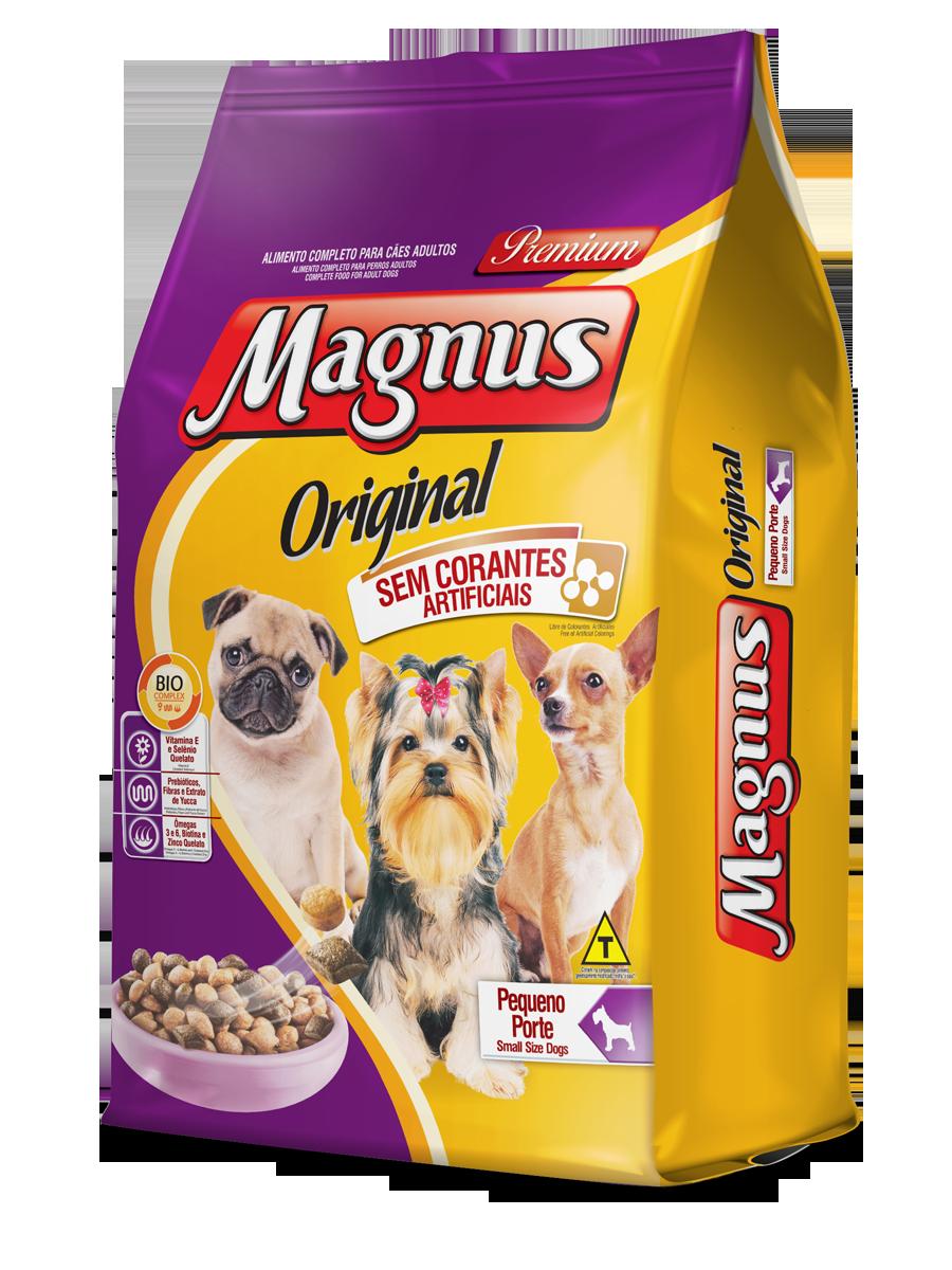 Ração Magnus Original Adultos Pequeno Porte 15kg