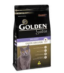 Ração Golden Gatos Adultos Salmão 10 kg