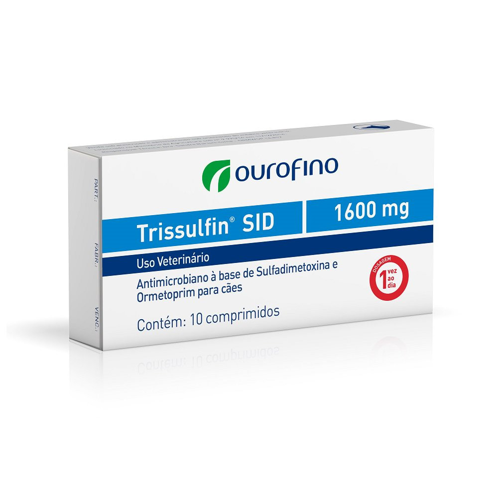 Trissulfin  SID 1600mg 10 comprimidos