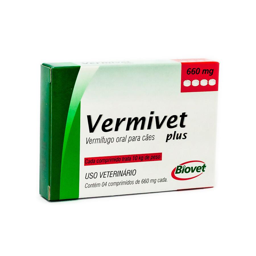 Vermifugo Vermivet Plus 660 mg
