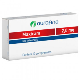 Maxicam 2,0mg cartela 10comprimidos