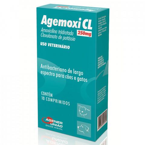 Agemoxi CL 250mg 10 comprimidos