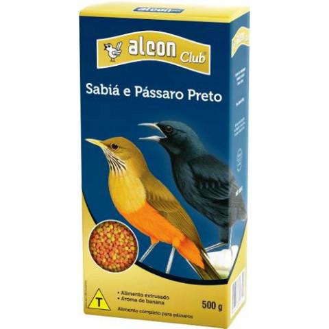 Alcon Club Sabiá e Pássaro Preto 500gr