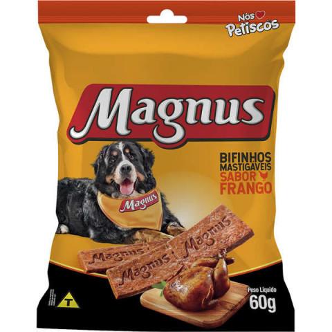 Bifinho Magnus Mastigáveis Sabor Frango para Cães 60g
