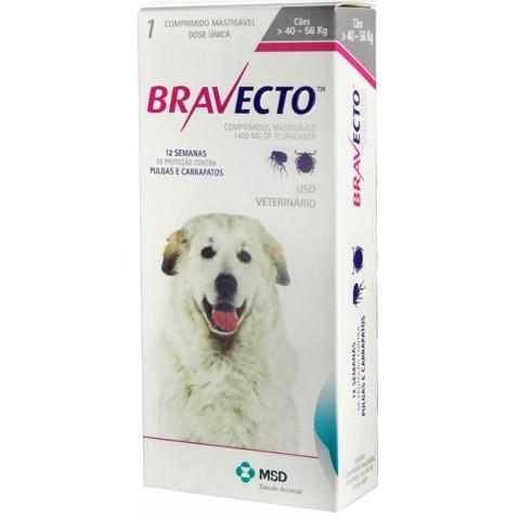 BRAVECTO - CACHORROS 40 A 56 KG ANTI PULGAS