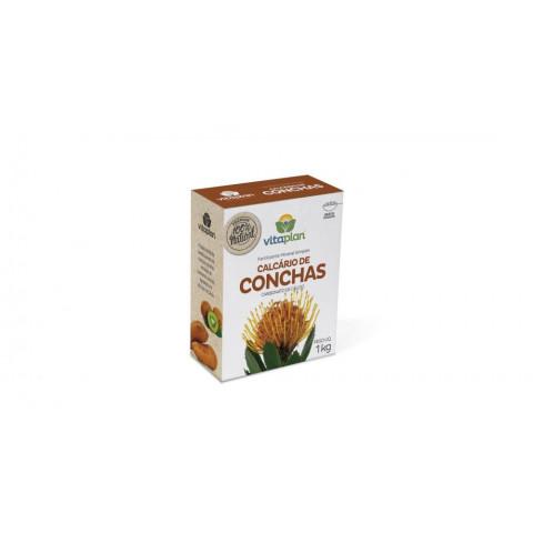 Calcário de Concha - 100% Natural 1kg