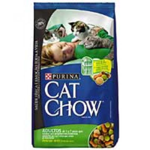 CAT CHOW Adultos Delícias de Aves 10kg