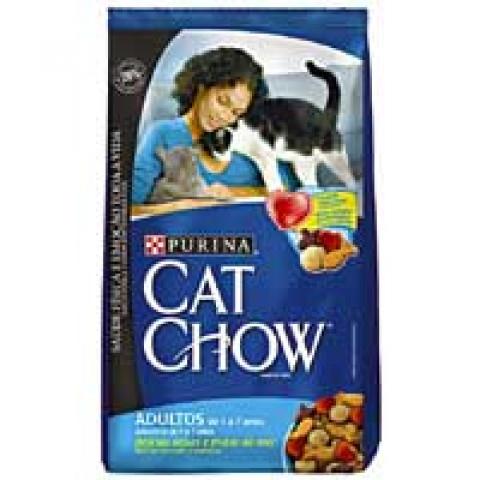 CAT CHOW Adultos Delicias de Peixes e Frutos do Mar 10kg
