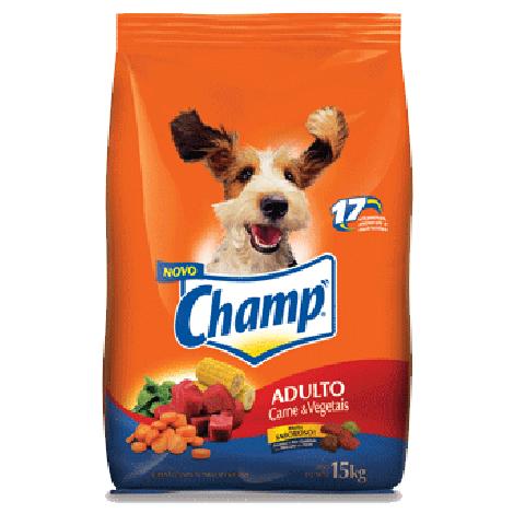 Champ Carne e Vegetais 15 Kg