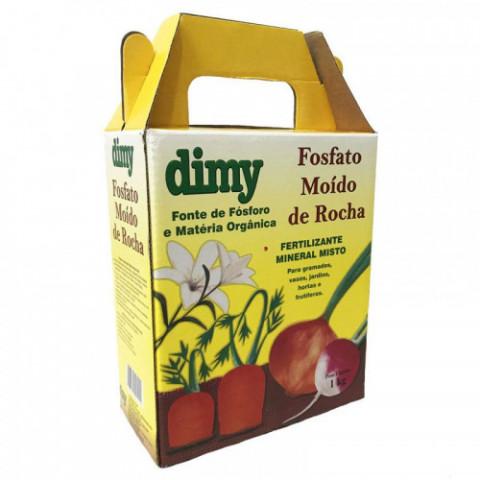 Fertilizante Mineral Fosfato Moído de Rocha Dimy 1kg