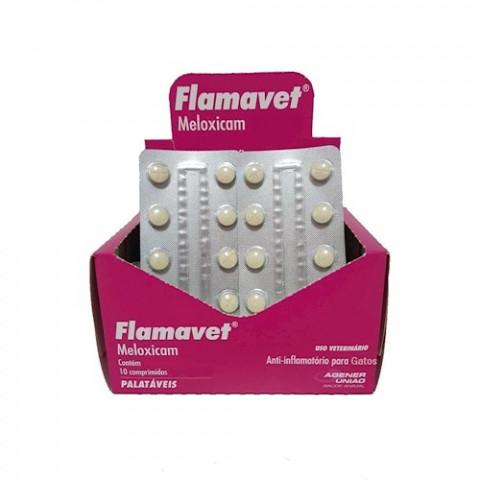 Flamavet 0,2mg cartela com 10 comprimidos