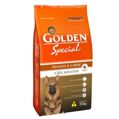 Golden Special Cães Adultos Frango & Carne 15 kg
