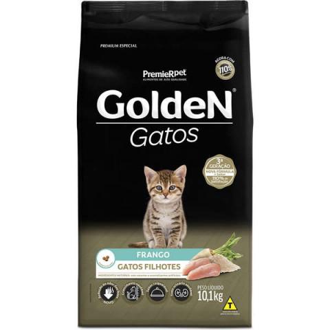 Ração Golden Gatos Filhote Frango 1 kg