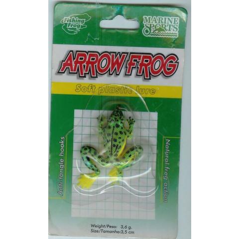 Isca Artificial Silicone Sapo Rã Arrow Frog