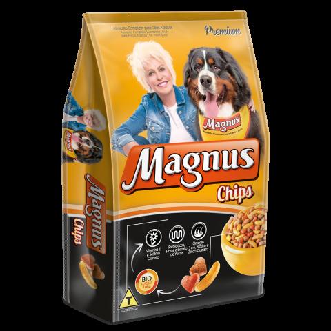 Magnus Premium Chips Cães Adultos 25kg