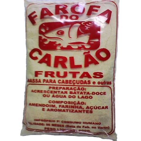 MASSA FAROFA DO CARLÃO FRUTAS