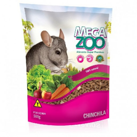 Mega Zoo Chinchila 500g