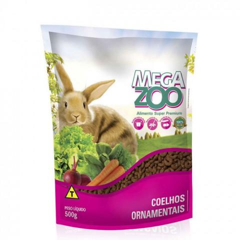 Mega Zoo Coelho 500g