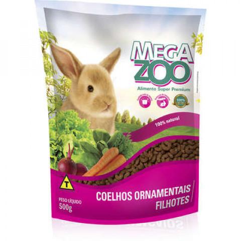 Mega Zoo Coelho Filhote 500g
