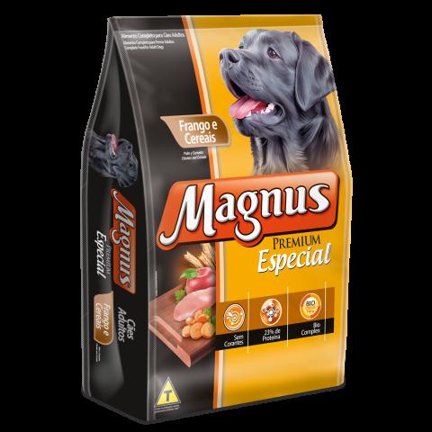 Magnus Premium Especial Cães Adultos Sabor Frango e Cereais 15kg