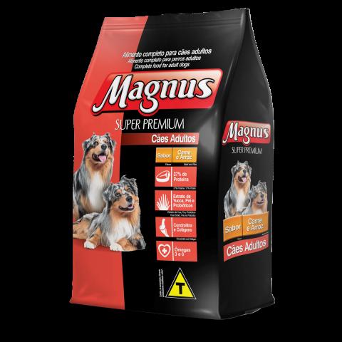 Magnus Super Premium Cães Adultos Sabor Carne e Arroz 15kg