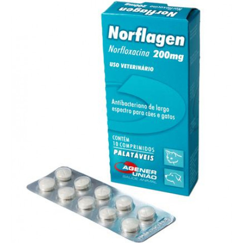 Norflagen 200mg 10 comp
