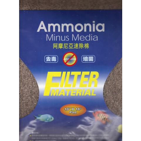 Placa de fibra sintética de remoção de Amonia