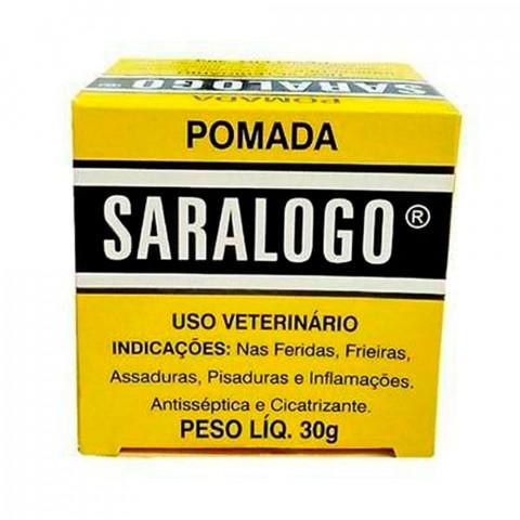 Pomada Cicatrizante Saralogo 30g