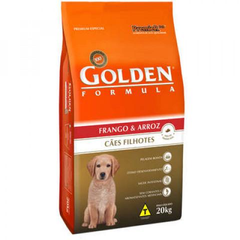 Ração Golden Formula Cães Filhotes Frango e Arroz 20 kg