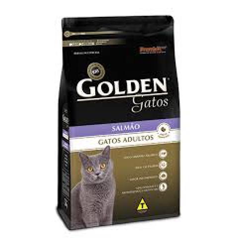 Ração Golden Gatos Adultos Salmão 1 kg