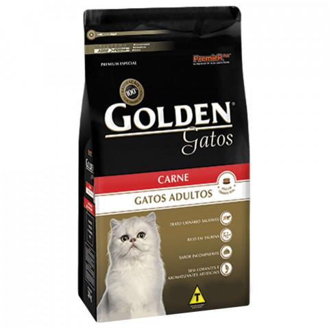 Ração Golden Gatos Carne 10,1 kg