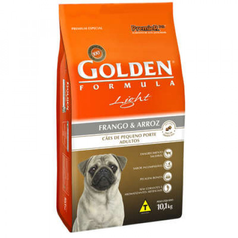 Ração Golden Mini Bits Light 3 kg