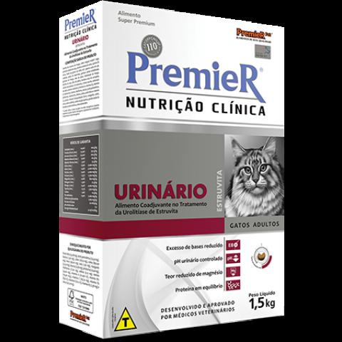 PREMIER NUTRIÇÃO CLÍNICA URINÁRIO GATOS 1,5kg