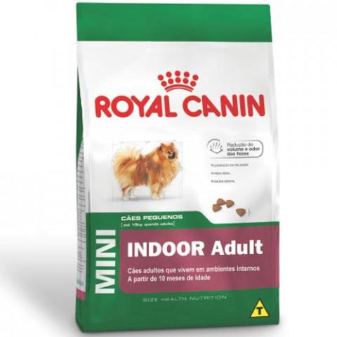 Ração Royal Canin Mini Indoor Adult 2,5kg