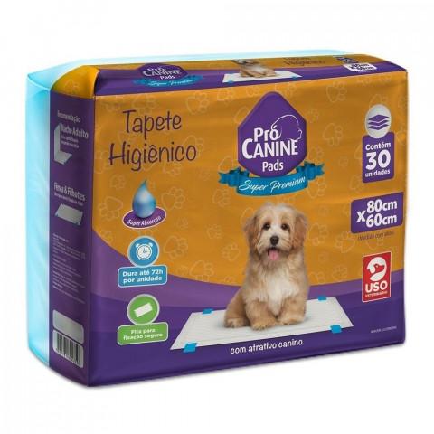 Tapete Higiênico Pró canine Pads Super Premium 30 Unidades