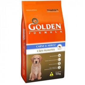 Ração Golden Formula Cães Filhotes Carne e Arroz 3 kg