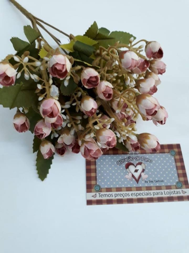 Bouquet de Flores Artificiais Fechadas - FL06