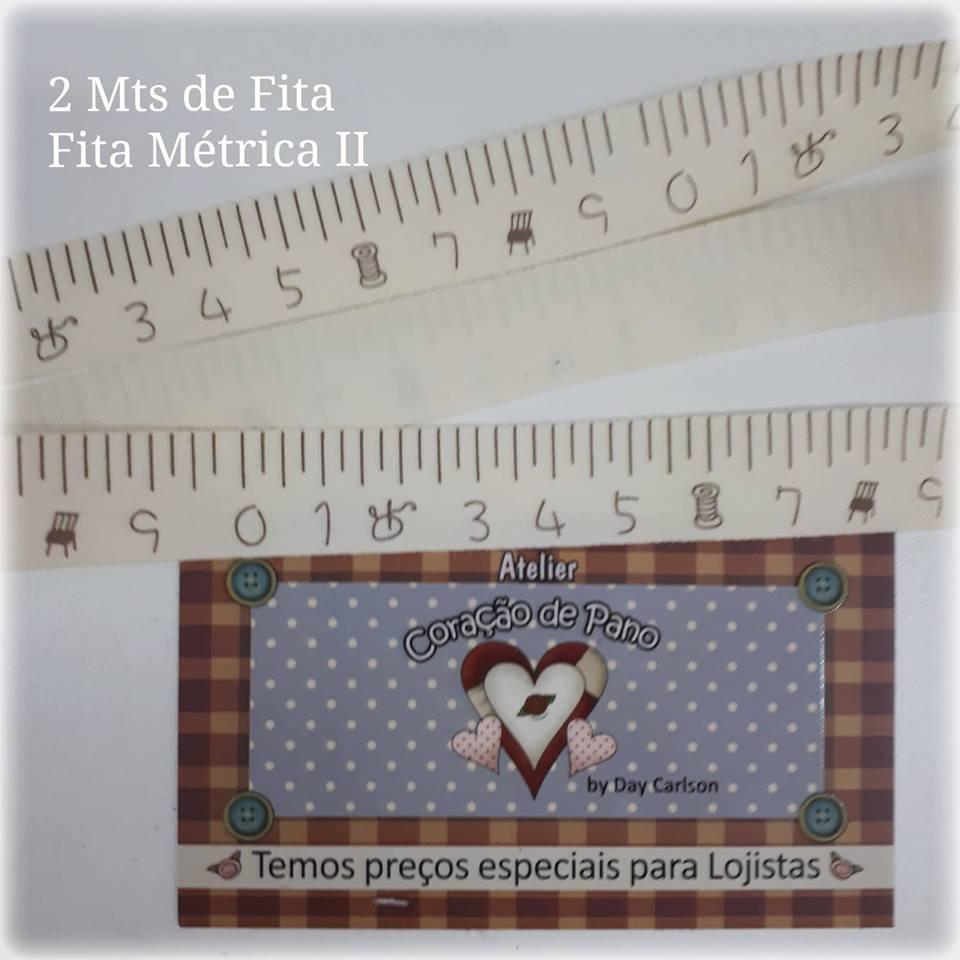Fita de Fita Metrica II (2mt x 2cm)