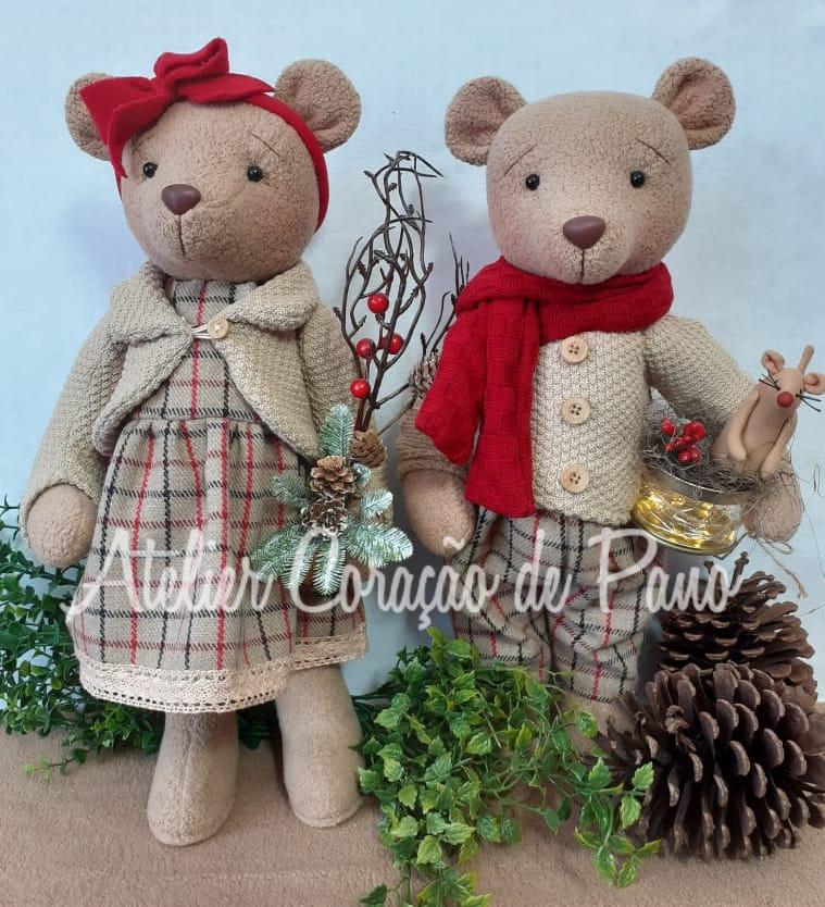 Projeto Digital - Casal Ursos Grandes Natal