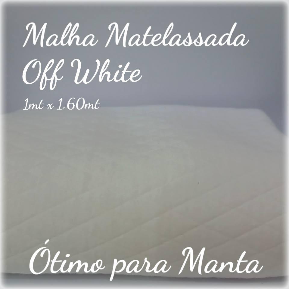 Malha Matelassada - Off White